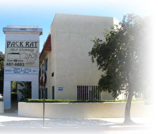 Photo of Pack Rat Self Storage Sign and Facility